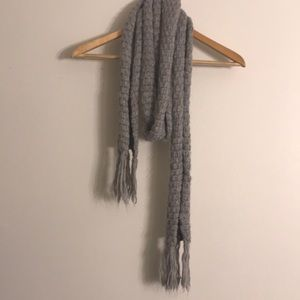 Old Navy Thin Gray Scarf